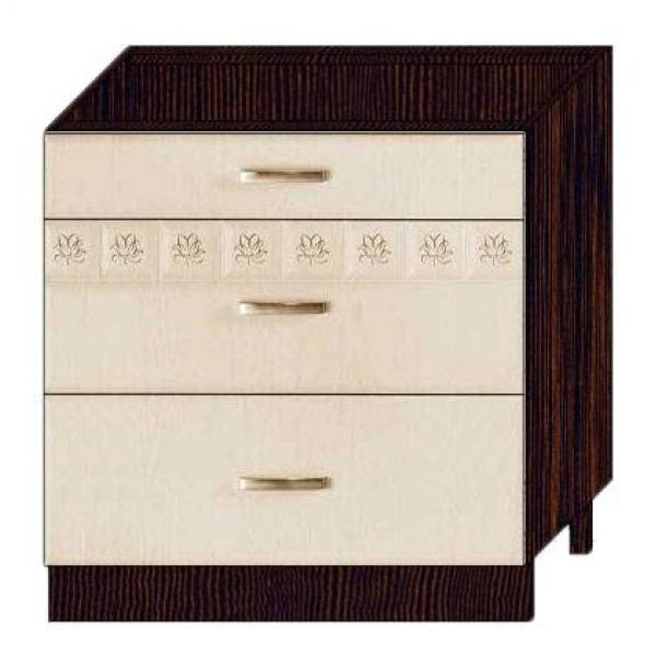 Стол с 3 ящиками (без столешницы) МЕТАБОКСЫ 10.67.2