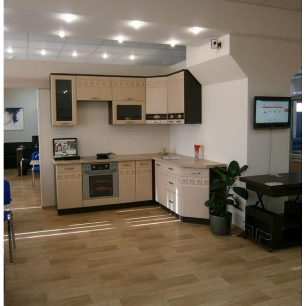 Кухня 2,2х1,9 метра Аврора 10 Набор 3