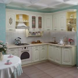 Кухня 2,4*1,7 метра Глория 3 Набор 3..