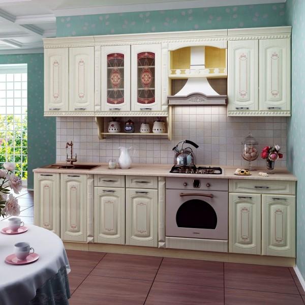 Кухня 2,6 метра Глория 3 Набор 1