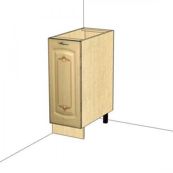 Стол правый, левый (без столешницы) 03.55.1