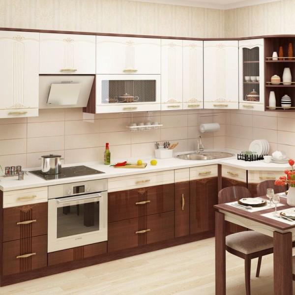 Кухня угловая Каролина-2