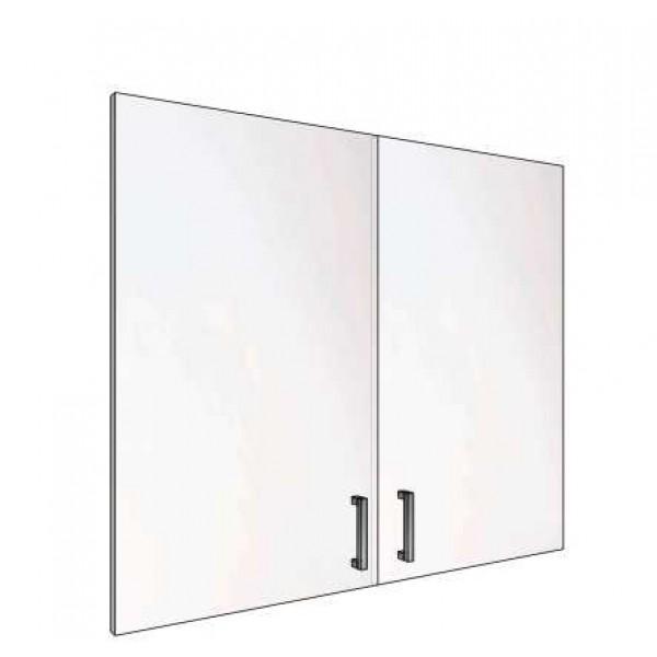 Двери стекло тонированное 3 секции 62.38