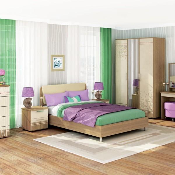 Гарнитур спальный Бриз 1