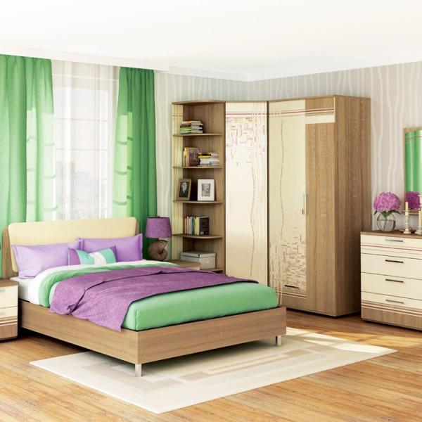 Гарнитур спальный Бриз 2