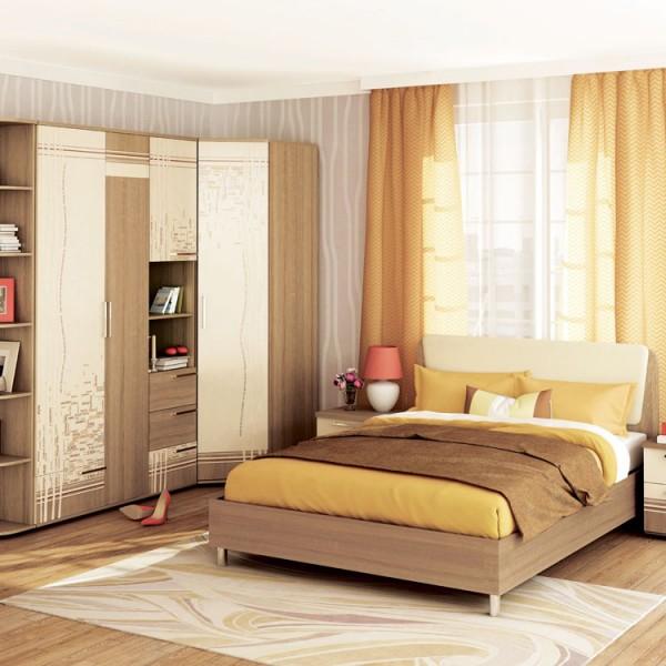 Гарнитур спальный Бриз 3