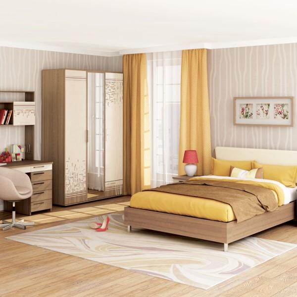 Гарнитур спальный Бриз 4