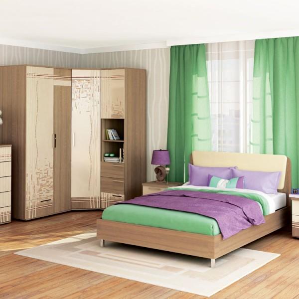 Гарнитур спальный Бриз 5