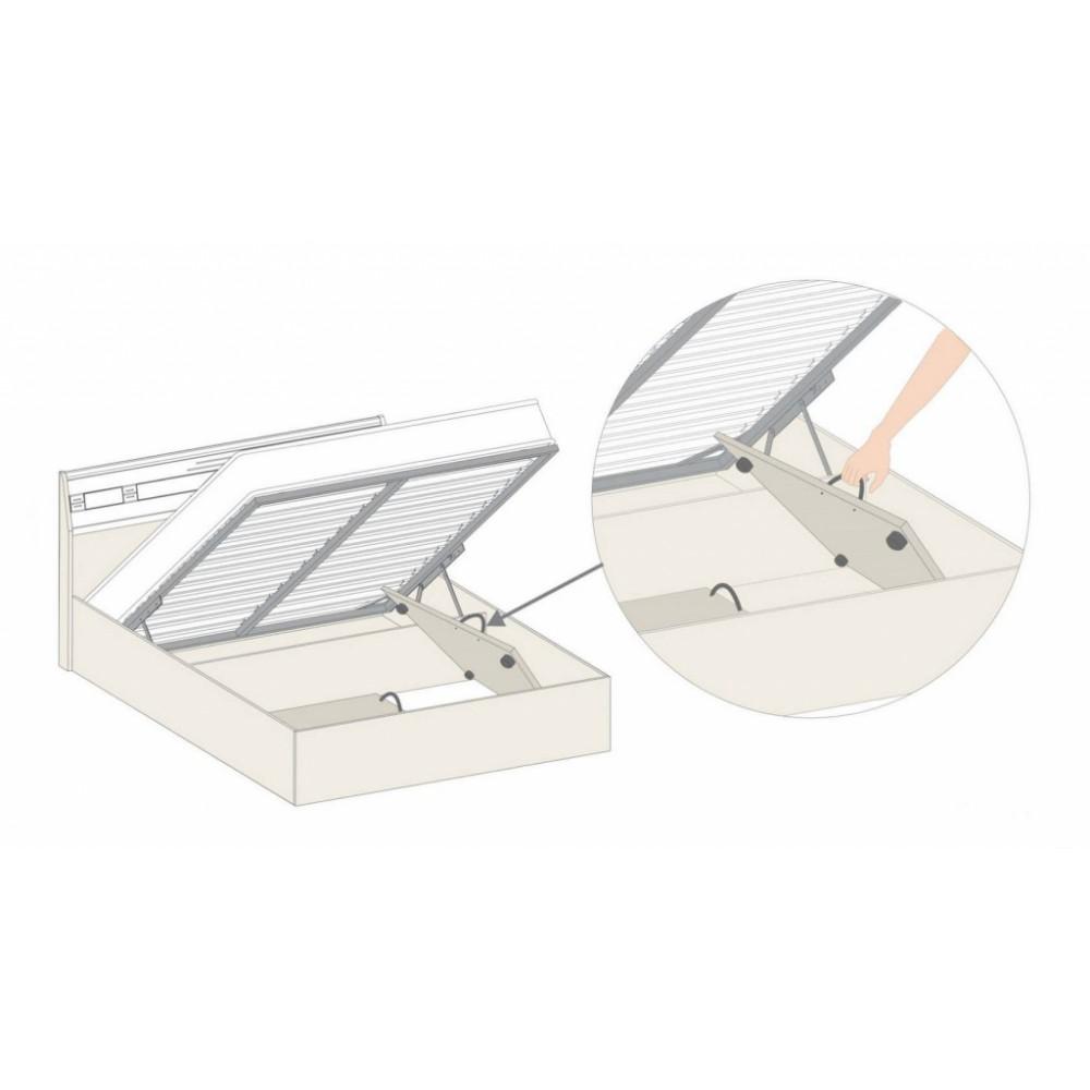 Кровать с подъемным механизмом 95.21.1