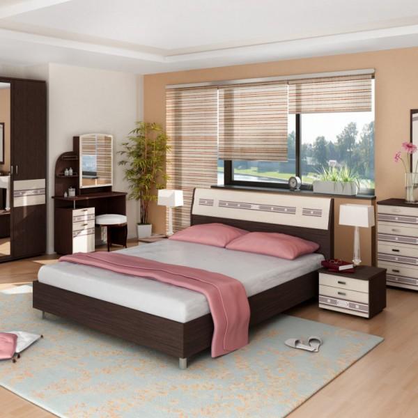 Гарнитур спальный Ривьера- 4