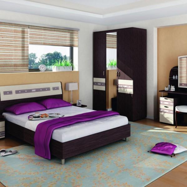 Гарнитур спальный Ривьера -3