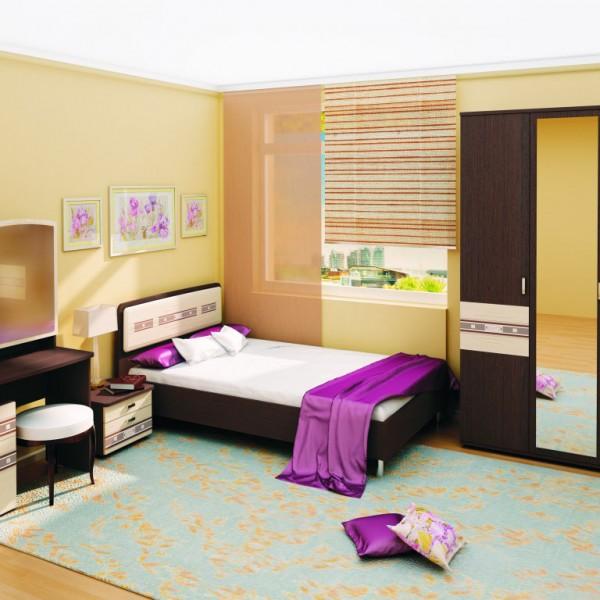 Гарнитур спальный Ривьера -2