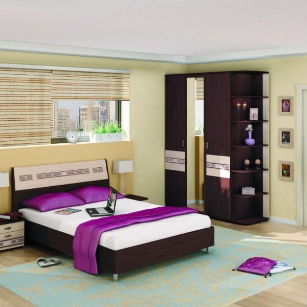 Гарнитур спальный Ривьера- 1